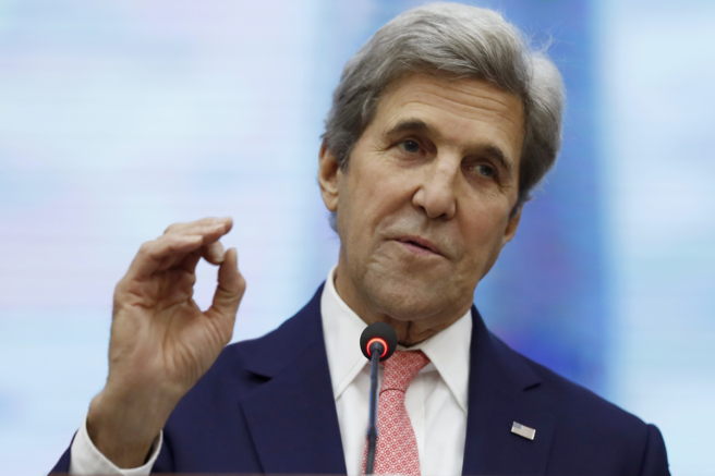 Special Presidential Envoy for Climate John Kerry is pictured. (Alex Brandon/AP Photo)