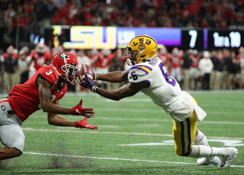 NCAA Football: SEC Championship-Georgia vs Louisiana State