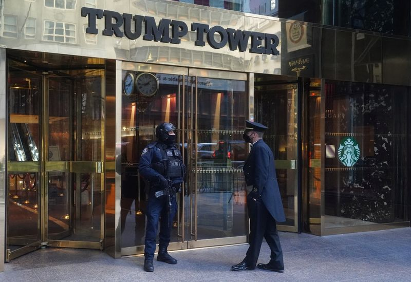 Trump Tower is pictured in New York City