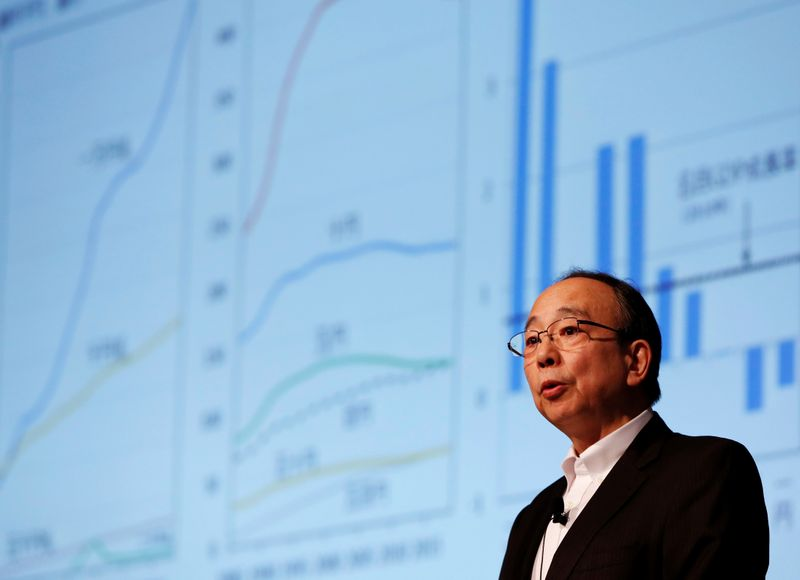 Bank of Japan Deputy Governor Masayoshi Amamiya speaks during a Reuters Newsmaker event in Tokyo