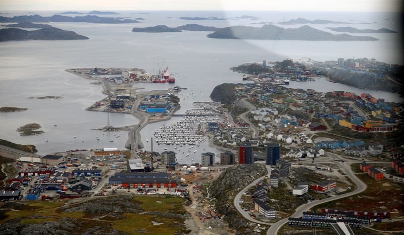 FILE PHOTO: A general view of Nuuk