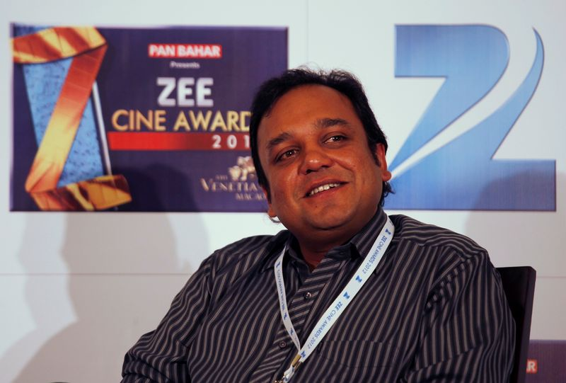 FILE PHOTO: Goenka, CEO and MD of Zee Entertainment Enterprises, attends news conference before Zee Cine Awards in Macau
