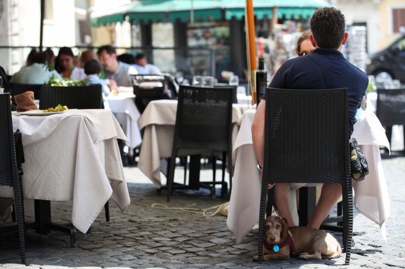 FILE PHOTO: Rome becomes a restriction-free