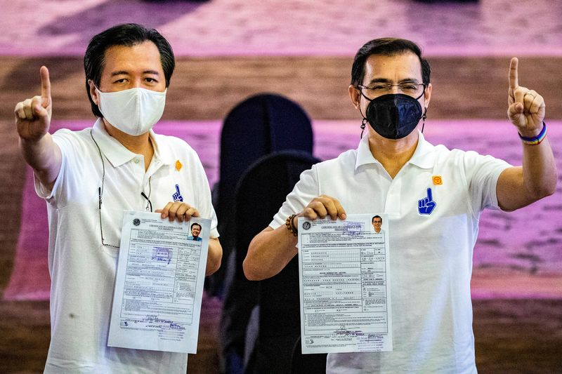 Philippine capital's Mayor Francisco Domagoso files certificate of candidacy for president for 2022 election