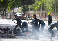 8 journalists among dozens killed in twin suicide attacks