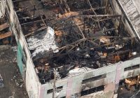 """New video shows """"worried"""" cops a year before Calif. fire that killed 36"""