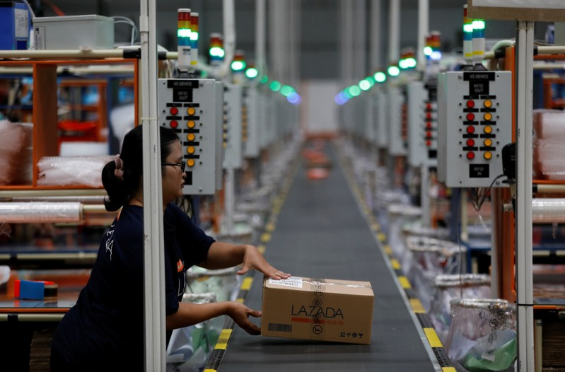 China tech giants bet on untangling logistics of