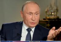 Putin denies having dirt on Trump in heated Fox interview