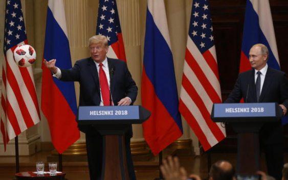 a016c2514 Vladimir Putin's soccer ball gift to Trump may have had microchip - FAN