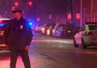 Officer wounded, suspect dead in Baltimore shootout, police say