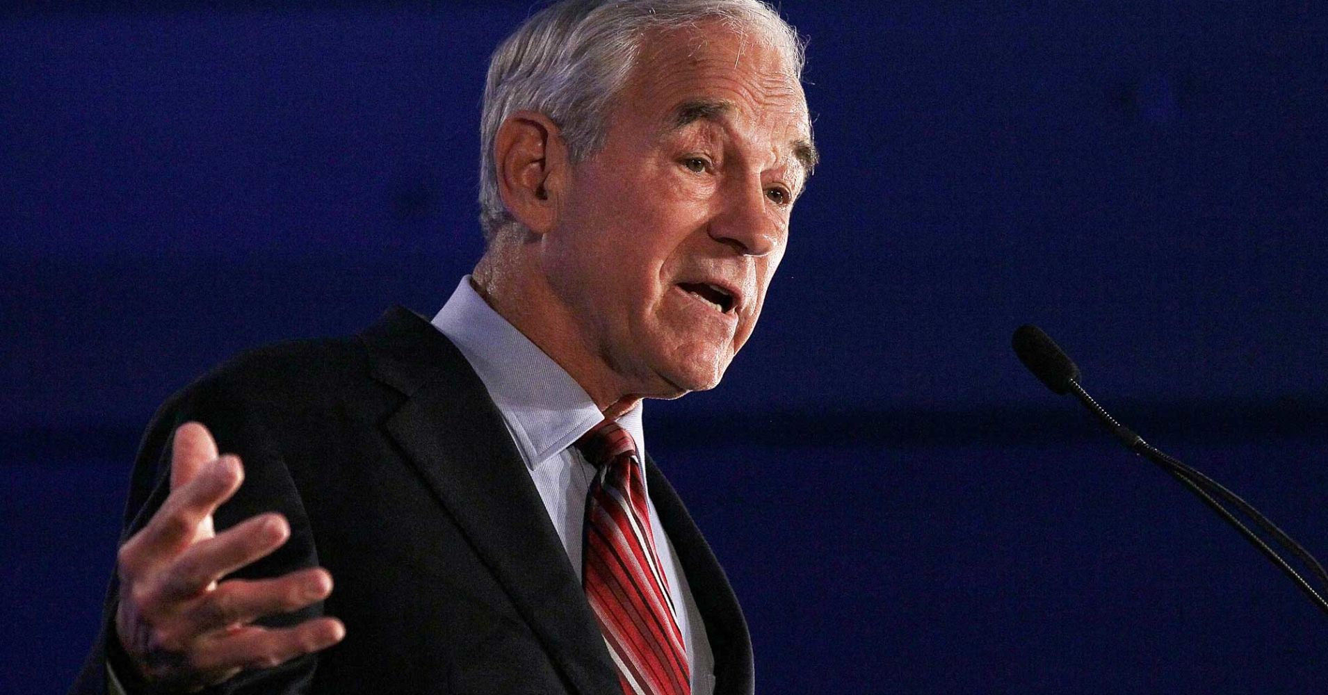 Why Ron Paul thinks the US is barreling towards a stock market plunge of at least 50% - FAN