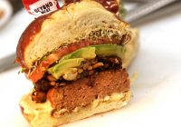 Beyond Meat, a $550 million brand, is winning over meat-eaters with a vegan burger that 'bleeds'