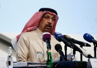 Saudi energy minister says oil market on the 'right track'
