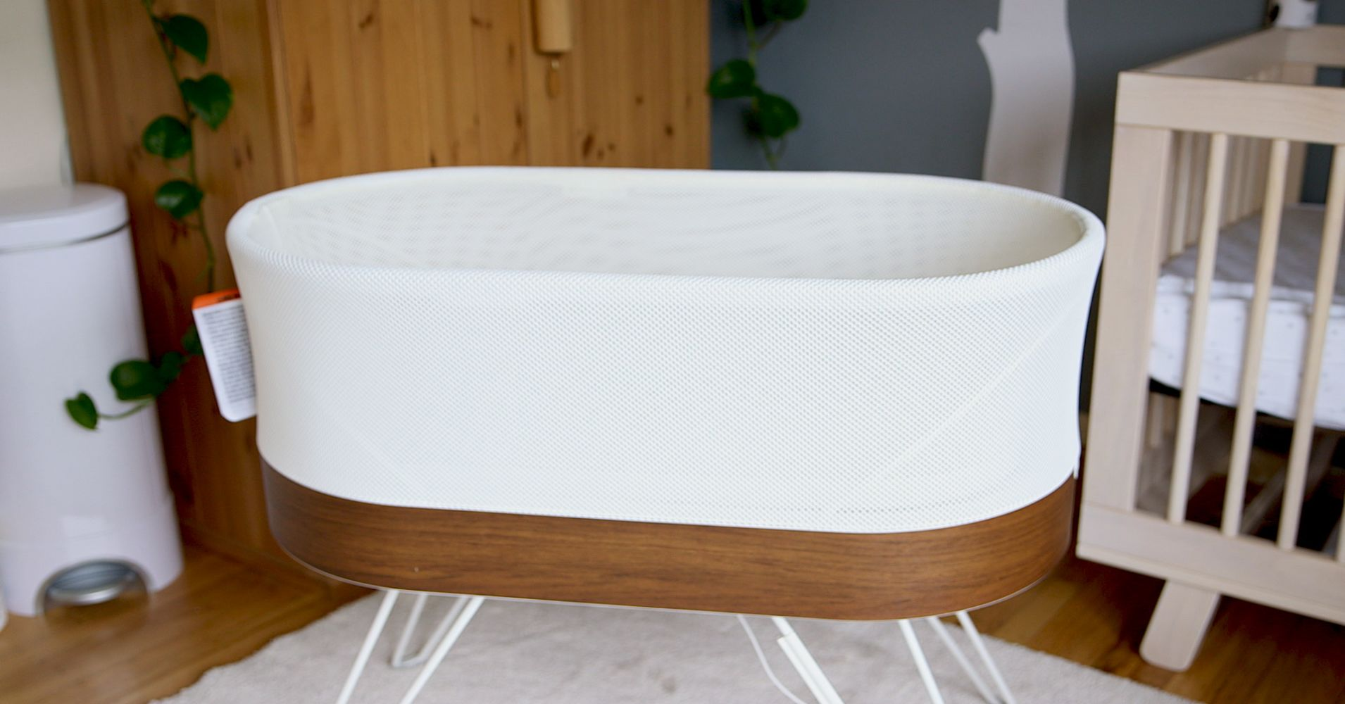 This 1 300 Smart Crib That Rocks Your Baby To Sleep Is