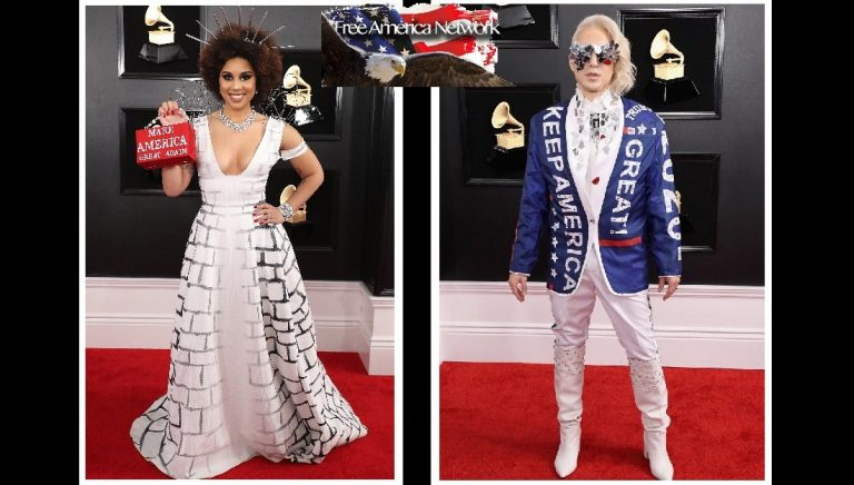 Grammy Awards Spawn Pro-Trump Attire