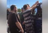 Inmates help rescue baby from locked car