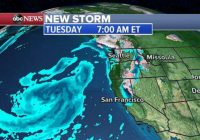 Storms approaching West Coast as Midwest rivers remain high