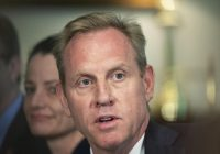 Shanahan out as defense chief after reports of domestic incidents