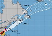 Dorian a major hurricane again as it nears North and South Carolina