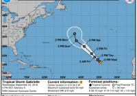 Tropical Storm Fernand dissipates but rain threats remain