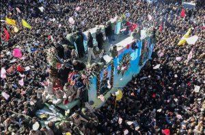 Soleimani Funeral Causes Deaths in Stampede