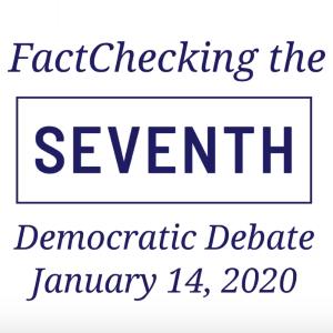 Video: The Seventh Democratic Debate