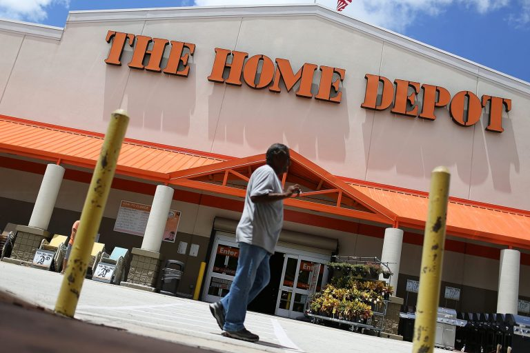 Home Depot shares rise after earnings top estimates, backs 2020 business outlook