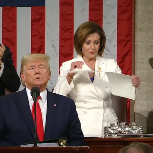 Pelosi, a Ripped Speech, and the Records Debate