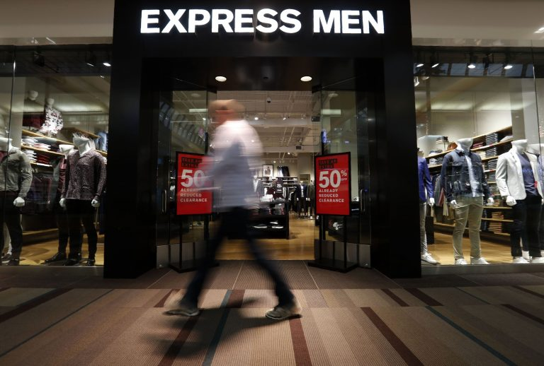 Coronavirus pushes Express to furlough most store workers, pause pay