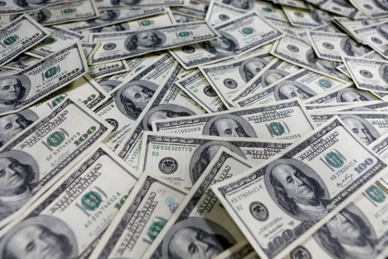 Dollar holds gains as investors seek safety in liquidity