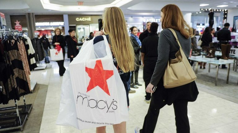 Macy's booted from S&P 500