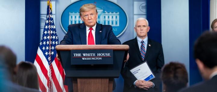Trump, Pence and Reassessing Coronavirus