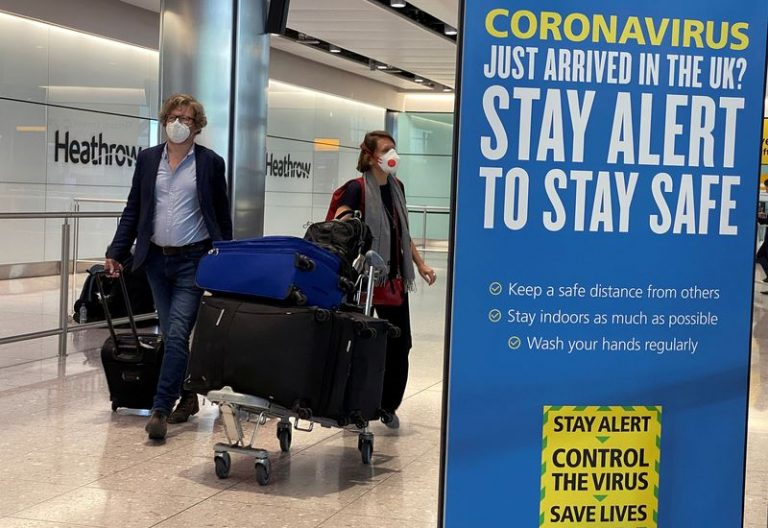 Airlines challenge UK quarantine policy in London's High Court