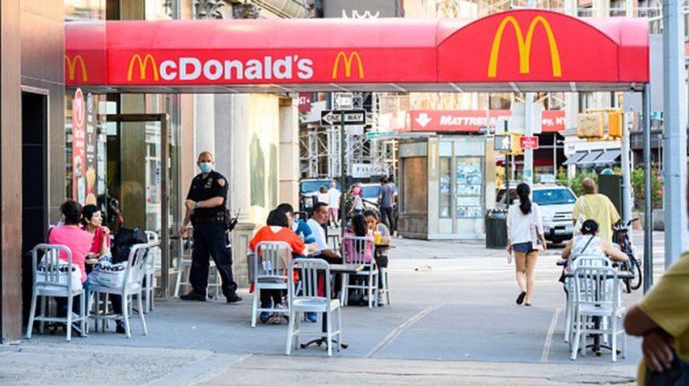 McDonald's global sales suffer as coronavirus lockdowns limit operations