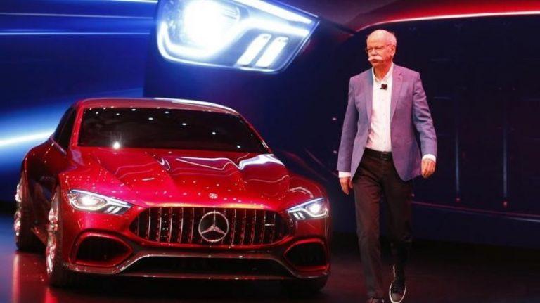 Daimler's designated chairman Zetsche renounces job