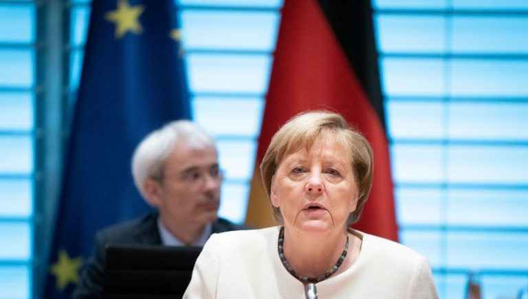 Merkel government wants tighter rules for parties to suppress virus