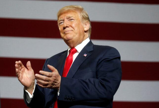 President Trump to make a major political comeback