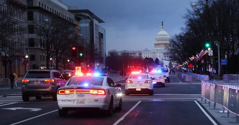 Washington, D.C., locks down as inauguration events kick off