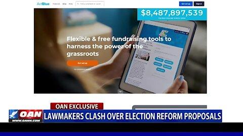 Lawmakers clash over election reform proposals