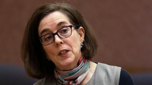 Ore. Gov. Brown touts political repressions to 'eradicate Trump forces'