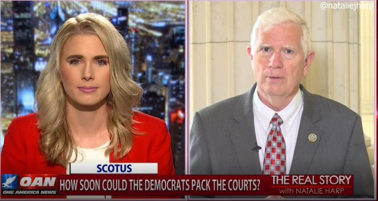 The Real Story – Dem Court Packing with Rep. Mo Brooks