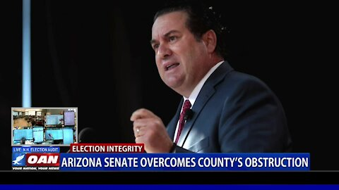 Ariz. Senate overcomes county's obstruction
