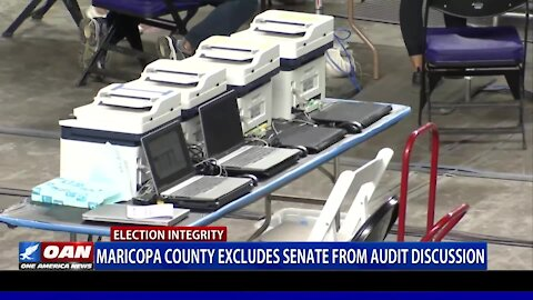 Maricopa County excludes Senate from audit discussion