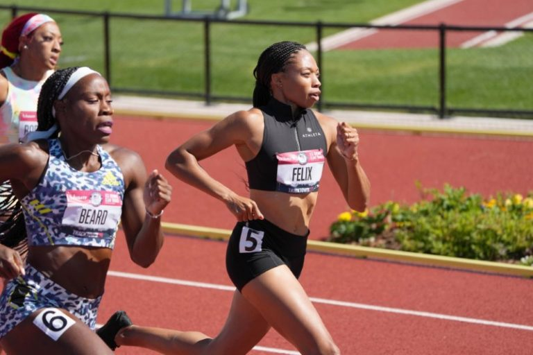 Athletics-Electrifying kickoff to U.S. Olympic trials, world record shattered