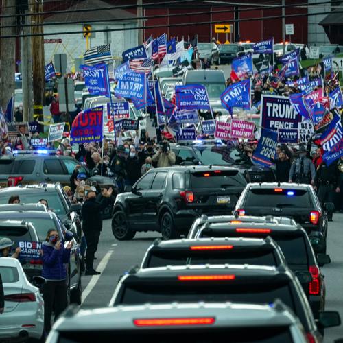 Old Photo of Biden Motorcade Misrepresented Online