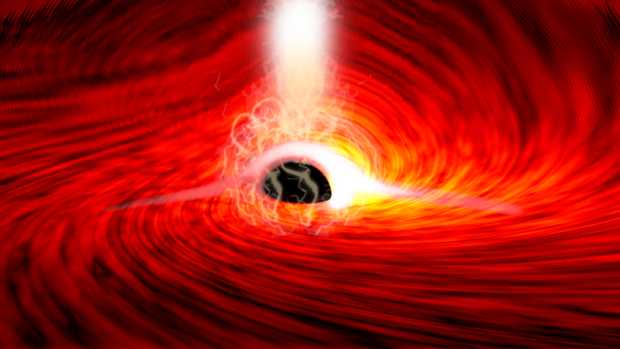 Light spotted behind black hole for first time, proving Einstein right