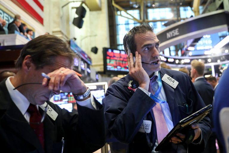 Dow futures rebound more than 300 points following Monday's big sell-off