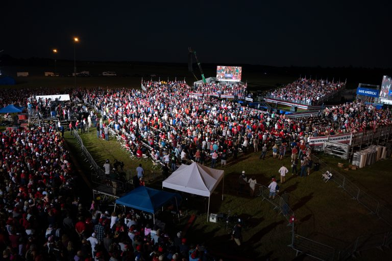 President Trump's Ga. rally attracts 20k attended in good sign for GOP