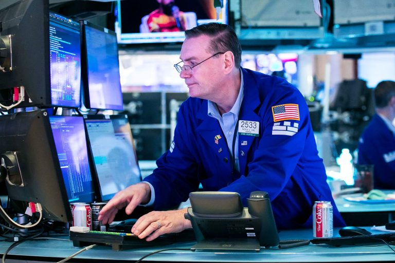 The Dow is back up 100 points as it attempts rebound from sell-off