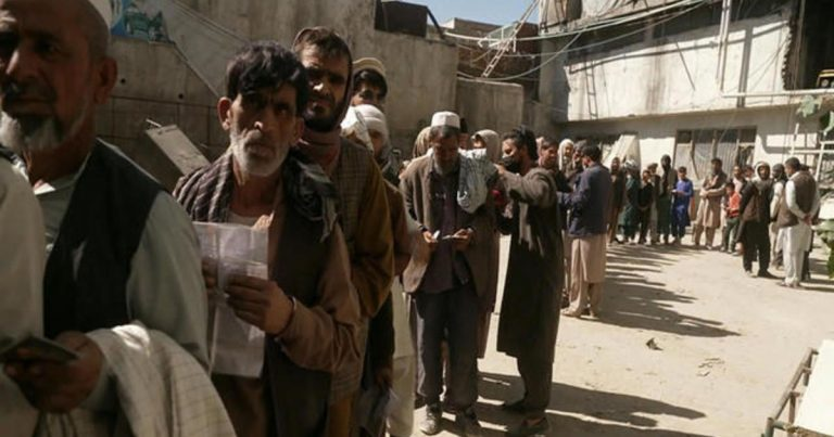 Afghanistan's economy is on the brink of collapse